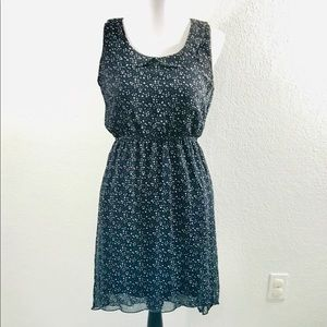 Speechless Dress Womans Sz M Blue White Stars